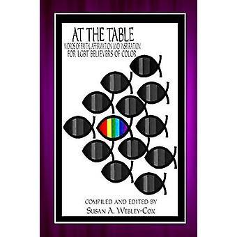 Taulukon sanat usko vakuutuksen ja inspiraation LGBT uskovien väri WebleyCox & Susan