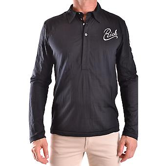 John Richmond Ezbc082031 Men's Black Polyester Polo Shirt