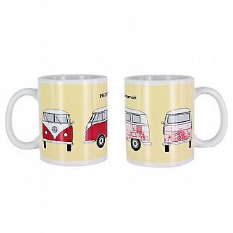 Official VW Camper Van Ceramic Heat Changing Mug / Cup in gift box