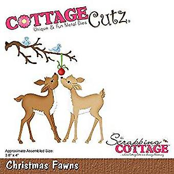 Scrapping Cottage Christmas Fawns