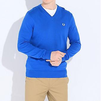 Fred Perry Classic Cotton V-Neck Sweatshirt K8260-969