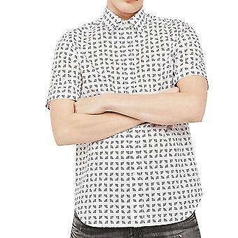 قميص طباعة ميركو الأكمام قصيرة ساكورا الديزل