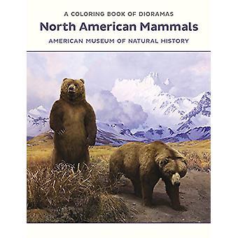 North American Mammals Dioramas Coloring Book  Cb180 - 9780764975943