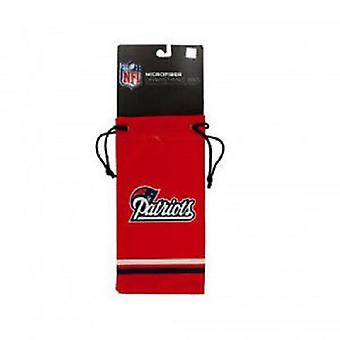 New England Patriots NFL Microfiber Glasses Bag