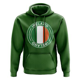 Ireland Football Badge Hoodie (Green)