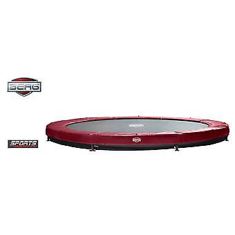 BERG InGround Elite 380 12.5ft Trampoline sport serie rood