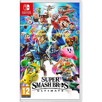 Super Smash Bros Ultimate Nintendo switch spel