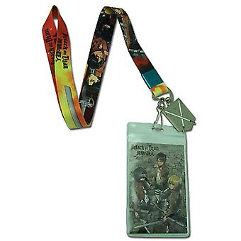 Lanyard - Attack on Titan - New Group and 104th Cadet Corp Logo Licensed ge37670