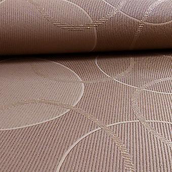 A.S. creatie als creatie geometrisch patroon cirkels glitter Trail motief getextureerde behang 953425