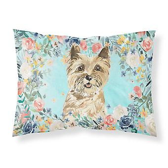 Carolines Treasures  CK3430PILLOWCASE Cairn Terrier Fabric Standard Pillowcase