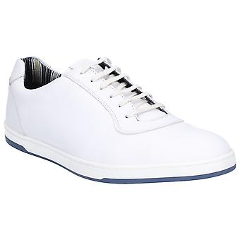 Base London Mens Hustle Softy Lace Up Trainer White