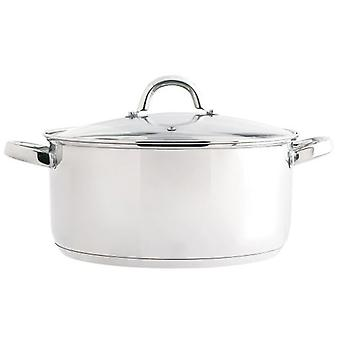Quid Ottawa Inox saucepan with lid (Kitchen , Household , Pots and pans)