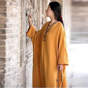 Oversize lange Casual Kleid