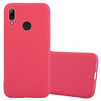 حالة Cadorabo لغطاء حالة Huawei P SMART 2019 - حالة الهاتف المحمول مصنوعة من سيليكون TPU مرن - حالة سيليكون واقية من حالة الناعمة الناعمة الناعمة للغلاف الخلفي الوفير