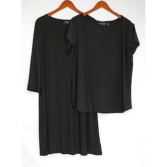 Atteggiamenti di Renee Set Wardrobe Dresss & Top Black A347246
