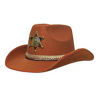 Sheriff Hat Brown for adults
