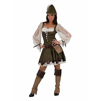 Ranger Women's Costume Lady Marian Outlawed Carnival Carnival Costume Ladies