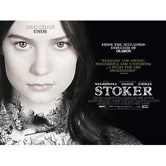Stoker Poster kaksipuolinen tyyli B (quad) (2013) alkuperäinen elokuva juliste