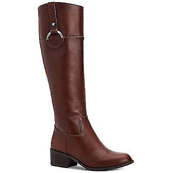 Alfani Womens Briaah Fabric Round Toe Knee High Fashion Boots
