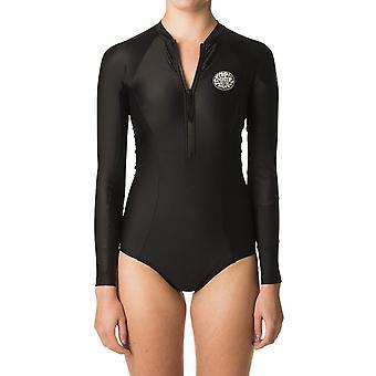 Rip Curl G Bomb Long Sleeve Neoprene Swimsuit in Black