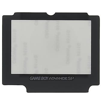 Replacement glass screen lens cover for nintendo game boy advance sp with adhesive