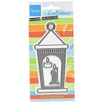 Marianne Design Craftables Lantern Die, Metal, Grey, 18 x 8.3 x 0.2 cm