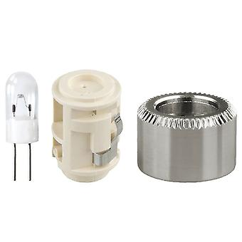 MAGLITE Vervang lamp, gebruik met 4-cel C & D batterij alleen #LMXA401