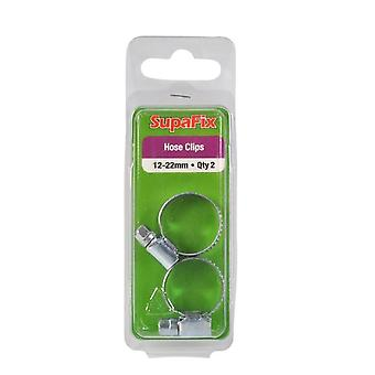 SupaFix Hose Clips (Pack Of 2)