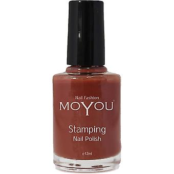 MoYou Stamping Nail Art - Special Nail Polish - Chocolate Spice 12ml