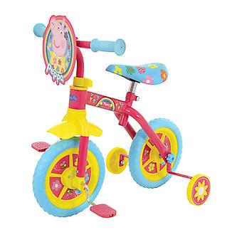Peppa Pig Happy 2 in 1 10 Zoll Trainingsfahrrad