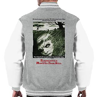 Hammer Horror Films Frankenstein Soul From Hell Men's Varsity Jacket
