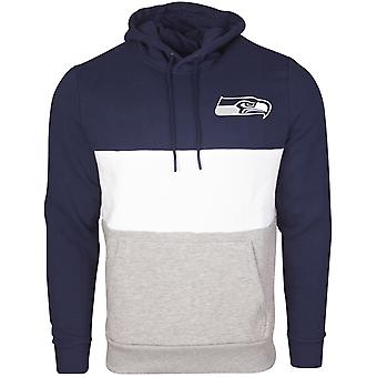 New Era COLOUR BLOCK Hoody - NFL Seattle Seahawks