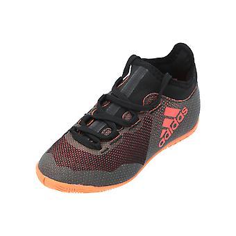 Adidas X TANGO 17.3 IN J Chaussures de football pour enfants Chaussures de sport noires