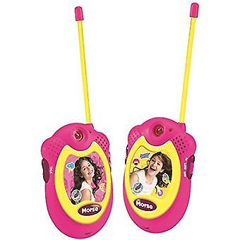 Lexibook TW06SL Talkie-walkie Soy Luna