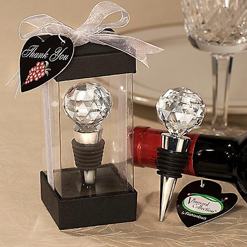 Vineyard Collection Crystal Ball Design Wine Stopper