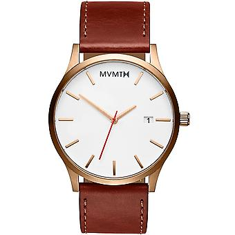 MVMT MM01-WBR classic rose gold natural 45mm 3ATM
