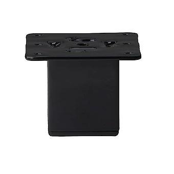 Mustat neliöt huone kalut jalka 7 cm