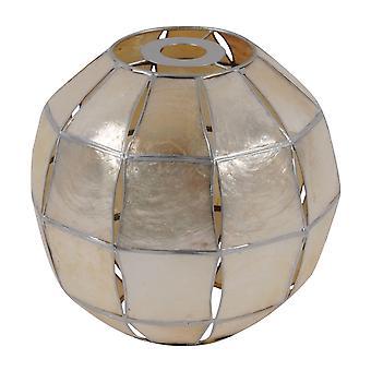 Stanford Accueil Unisex Capiz Ball Lampade