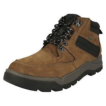 Mens Clarks Casual Lace Up Boots Un Atlas Up GTX