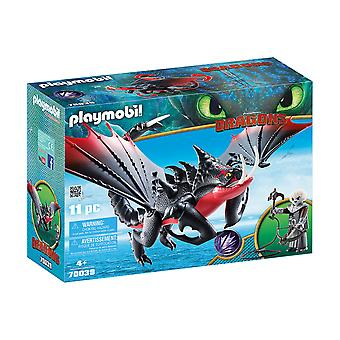 Playmobil DreamWorks Dragons Deathgripper With Grimmel 11PC Playset