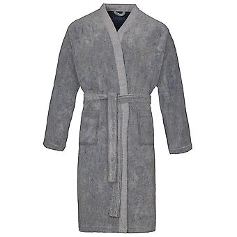 Vossen 162319-001 Men's Harrison Tweed Gri Sabahlık Salon Elbise Bornoz