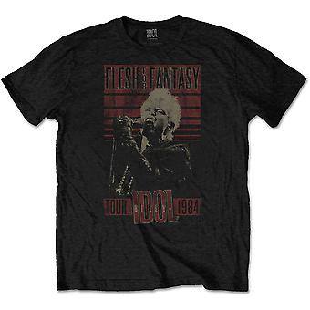 Billy Idol Flesh For Fantasy Tour 1984 Camiseta Oficial de Rock