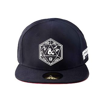 Dungeons And Dragons Baseball Cap Symbol Logo new Official Black Snapback