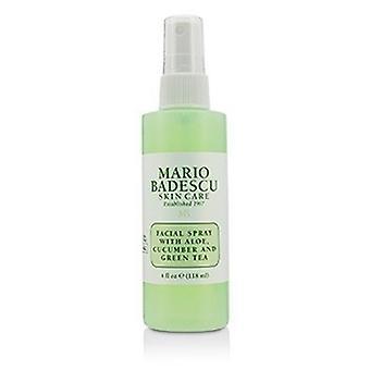 Mario Badescu Facial Spray met Aloë, Komkommer en Groene Thee - Voor alle huidtypes 118ml/4oz