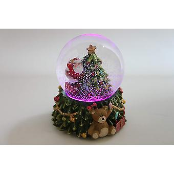 Gisela Graham Led Colour Changing Snowglobe