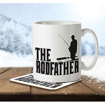 The Rodfather - Mug and Coaster