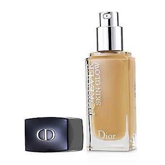 Dior für immer Haut glühen 24 h tragen strahlende Perfektion Fundament spf 35 3 w (warm) 30ml/1oz