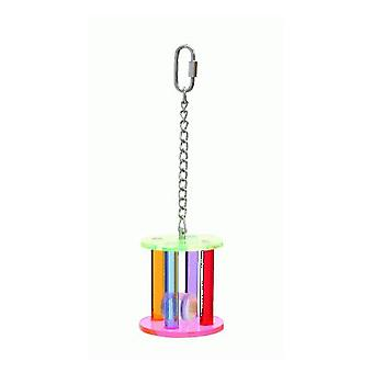 Sandimas Acrylic Beaker Toy (Birds , Bird Cage Accessories , Swings)