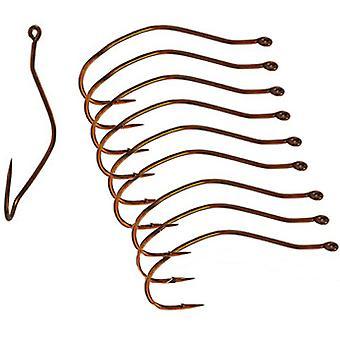 Mustad UltraPoint Slow Death Bronze Fishing Hooks (10 Ct)
