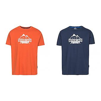 Trespass Mens Peaked Short Sleeve T-Shirt